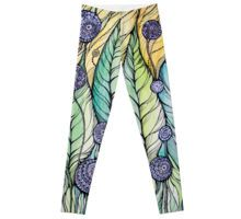 LEGGINS Made with 82% Polyester, 18% Elastane.Stretch waistband.This  painting is hand drawn using the ink pen #leggings #clothing #trousers #pants  #girly #woman #girl #young #wearing #fashion #beauty #redbubble  #handdrawing #meditationart #art #artprints #graphicdesign #graphics #abstraction #black #brushpen #doodle #doodling #drawart #ink #inktens #lineart #mandala #meditation #mixedmediaart #mixsedmedia #patterns #pen #zentangle