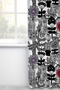 Marimekko Lintukoto curtains