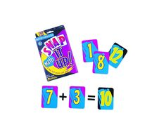 Learning Resources Snap It Up! Math: Add/Sub Card Game Engage kids in building math skills with this fast-paced game! Players pick and pass cards as fast as they can, adding and subtracting numbers Includes 90 boldly-printed cards Great for ages Oh Snap Game, Up Game, Build Math, Education And Development, Fun Games For Kids, Game Sales, Math Facts, E 10, Addition And Subtraction