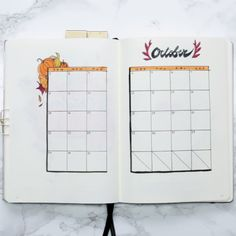 Plan With Me: October Bullet Journal