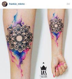 Mandala watercolour