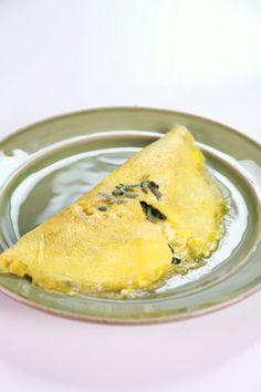 Michael Symon's Greek Omelet sometimes I substitute mozzarella and even tomatoes...be creative...it's all good.