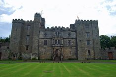 Chillingham Castle, Northumberland, England - Altered in the 17–19th centuries, restored after 1982
