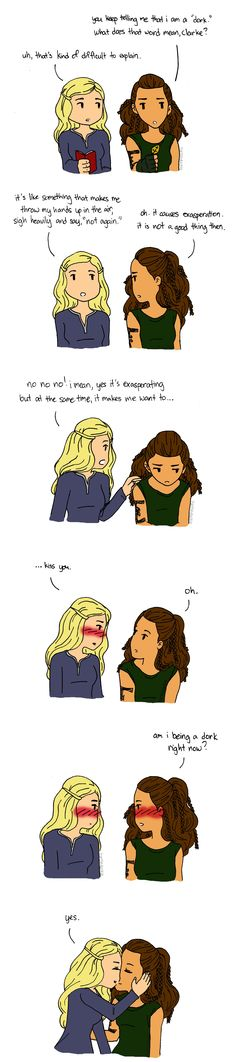 Clarke & Lexa #clexa - How you get the girl (step 5) - Dork