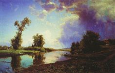 Iosif Krachkovsky. Before the Thunderstorm at the End of the Summer. 1888