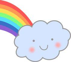 cute rainbow illustration - Google Search