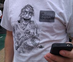 Texting Zombies Shirt :D