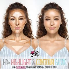 A lot of girls have been asking me for the highlight&contour guide, so here it is!! ✌ I mainly use this technique when I go to events, on stage, TV shows and some other places where it requires a lot of HD but you can also do this on your regular makeup basis too but try not to over do it! I'm using @passionville-cream blushon the road (10Parallel roads) it is very easy to use, It blends out the colour very well and it helps to bring out areas where I want to focus and even with the #s...