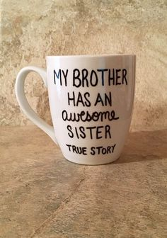 ****If you would like to change the wording from brother to sister please leave this information in the notes to seller section at checkout**** #giftsforfriend