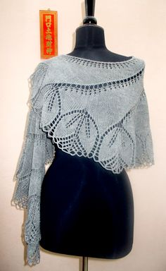 Crochet Patterns Shawl Lace Shawl and Wrap Knitting Patterns Lace Knitting Patterns, Shawl Patterns, Free Knitting, Finger Knitting, Knitting Machine, Lace Patterns, Knitting Tutorials, Knitted Shawls, Crochet Scarves