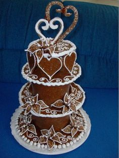 Bread Art, Tiered Cakes, Food And Drink, Sweet, Desserts, Candy, Tailgate Desserts, Deserts, Postres