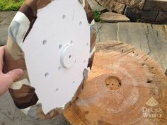 Padded Tree Stump Seats for your Fire Pit!