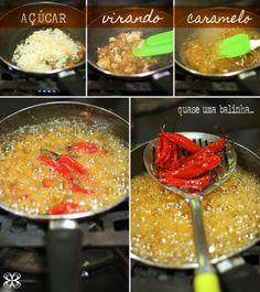 Pimentas caramelizadas (caramelized chilli)