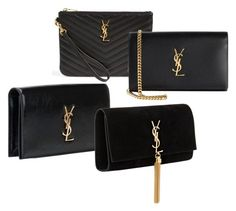 YSL black by k-inspiration on Polyvore featuring Yves Saint Laurent