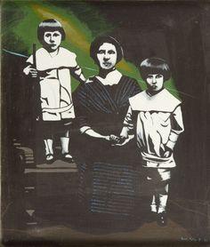 Antoni  Fałat - Polska rodzina, 1988 r.