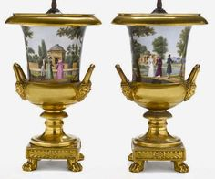 Bunnatine Dreams: Old Paris porcelain: A Gilt-y Pleasure