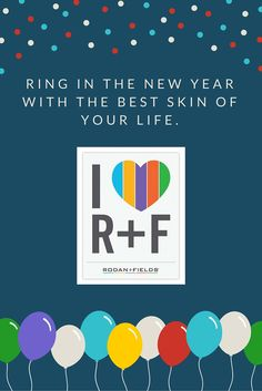 Resolve to get serious about skincare this year with Rodan + Fields. Best New Year's resolution you'll make!