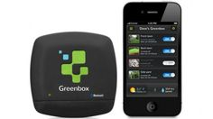 Greenbox irrigation system waters your plants with help from your phone (product by 22seeds)
