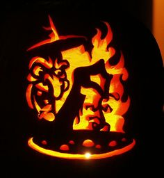30+ Best Cool, Creative & Scary Halloween Pumpkin Carving Ideas 2013