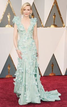 The Oscars Red Carpet Looks Everyone Is Talking About via @WhoWhatWear