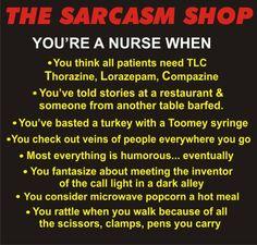 YOU know you are a nurse when......... - Nursing Humor / Share Jokes