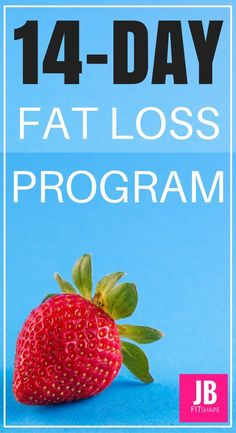 WEIGHT LOSS CHALLENGE With this 14-Day Fat Loss Program, weve provided meal plans and workout challenges, along with nutritional and lifestyle tips, to make each day a fat burning success. #fatlossprogram #14daychallenge#2weekdiet https://jbfitshape.wordp