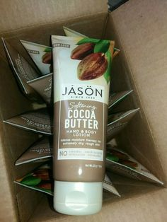Coco Butter Lotion JASON 227g X 11 £55 Free delivery #JASON Massage Lotion, Body Lotion, Coconut Sorbet, Organic Vitamins, Baby Oil, Skin Cream, Cocoa Butter, Body Butter, Vitamin E