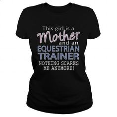EQUESTRIAN TRAINER - MOTHER - #teeshirt #designer hoodies. BUY NOW => https://www.sunfrog.com/LifeStyle/EQUESTRIAN-TRAINER--MOTHER-Black-Ladies.html?60505