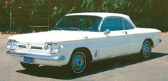 """1963,  Chevrolet Corvair Monza Spyder"""" was my second set of wheels replace the ford I wrecked"""