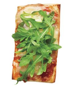 Fig Jam and Gruyère Open-Face Sandwich: Top this warm sandwich with baby arugula before serving for a fresh, peppery bite.