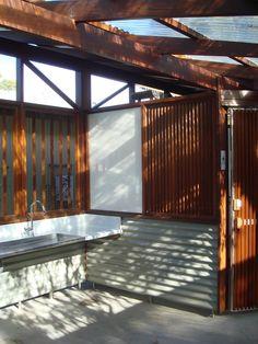 Offical Website of Architecture Foundation Australia and the Glenn Murcutt Masterclass. Wood Architecture, Architecture Awards, Roof Drain, Architecture Foundation, Beach Road, Wall Cladding, Concrete Floors, Hardwood, Public