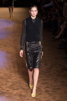 Prada Spring 2015 Show | Milan Fashion Week | POPSUGAR Fashion