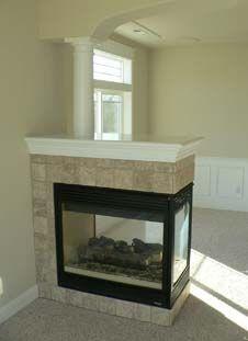 Lennox 3 sided gas fireplace model EDVPF   Gas & Wood Fireplaces ...