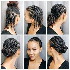 Protective Braids, Protective Hairstyles For Natural Hair, Natural Hair Twist Out, Natural Hair Braids, Protective Styles, Natural Twists, Natural Weave, Flat Twist Hairstyles, Black Kids Hairstyles