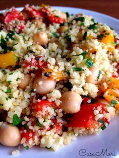 Detox Recipes, Vegan Recipes, Cooking Recipes, Gnocchi Pasta, Couscous Recipes, Buffet, Oriental, Creative Food, Italian Recipes