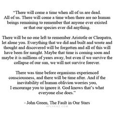 The fault in our stars reflection essay