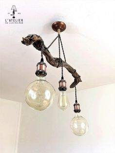 Suspended+wood+light_Luminaire+suspendu+par+AtelierDeLuminaires