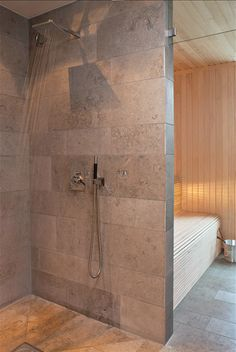 Architect Gert Wingårdh's Shower & Sauna   Photography by Jean-François Jaussaud Photography by Jean-François Jaussaud