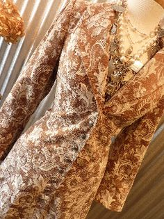 Absolutely Gorgeous Ladies' Brocade Jacket by Scully