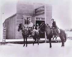 Wyatt Earp's Northern Saloon in Tonopah, Nevada - 1902