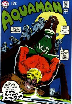 Aquaman cover by Nick Cardy
