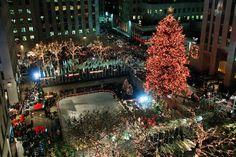 NYロックフェラーセンターの歴代クリスマスツリー - WSJ.com