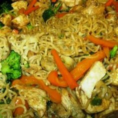 Ramen Noodle Stir-Fry with Chicken and Vegetables Allrecipes.com