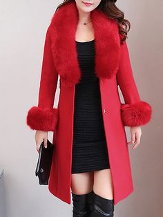 bfff550d921d Buy Coats For Women from Sicily at Chicloth. Online Shopping Shift Long  Sleeve Shawl Collar Casual Coat, The Best Work Coats.