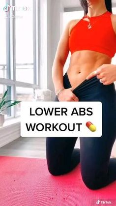 Fitness Workouts, Fitness Motivation, Gym Workout Videos, Gym Workout For Beginners, Fitness Workout For Women, Fitness Tips For Women, Workouts For Lower Abs, Lower Abdominal Workout, Yoga Videos For Beginners