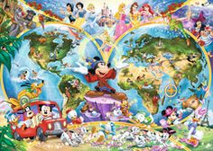 Disney World Map, 1000pc | Adult Puzzles | Puzzles | Products | UK…