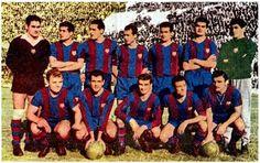 EQUIPOS DE FÚTBOL: BARCELONA 1960-61