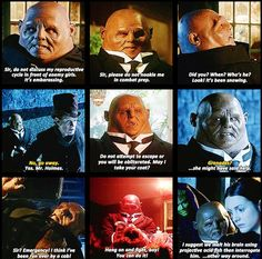 """Strax is a master conversationalist. When I'm at a loss, I ask myself, """"What would Strax do?"""", and then I attack."""