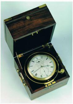 An 8-day marine chronometer by Charles Wieland - Raffety Fine Antique Clocks