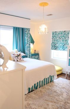 House of Turquoise turquoise bedroom